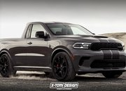 This Dodge Durango SRT Hellcat Pickup Is Begging to Fight the Ford Ranger Raptor - image 917831