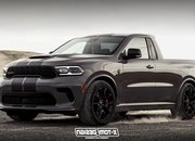 This Dodge Durango SRT Hellcat Pickup Is Begging to Fight the Ford Ranger Raptor - image 917829