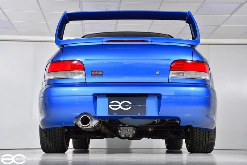 This is the Best-Looking, Low-Mileage Subaru Impreza 22B on Earth But It'll Cost You $370,000