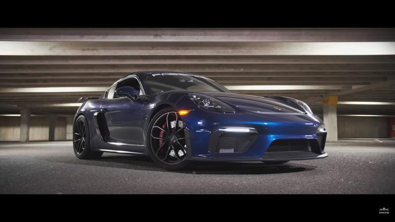 This Video Review Explains Why the 2020 Porsche 718 GT4 Seamlessly Blends the Line Between Track and Street