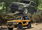 Throttle House Says the Land Rover Defender is a $75,000 Ford Bronco Fighter - image 925650