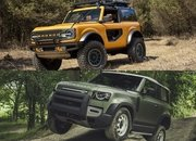 Throttle House Says the Land Rover Defender is a $75,000 Ford Bronco Fighter - image 925649