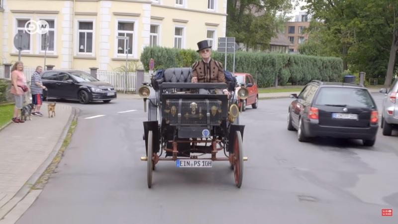 You Absolutely Have to Check Out Germany's Oldest Street-Legal Car - 1894 Benz Victoria