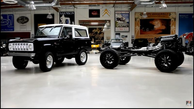 You Have to See This 1968 Ford Bronco With the Heart of the Shelby GT500 That Stopped by Jay Leno's Garage