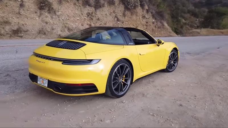 The 2021 Porsche 911 Targa 4S Is Obese Compared To the Original 911 - image 930565