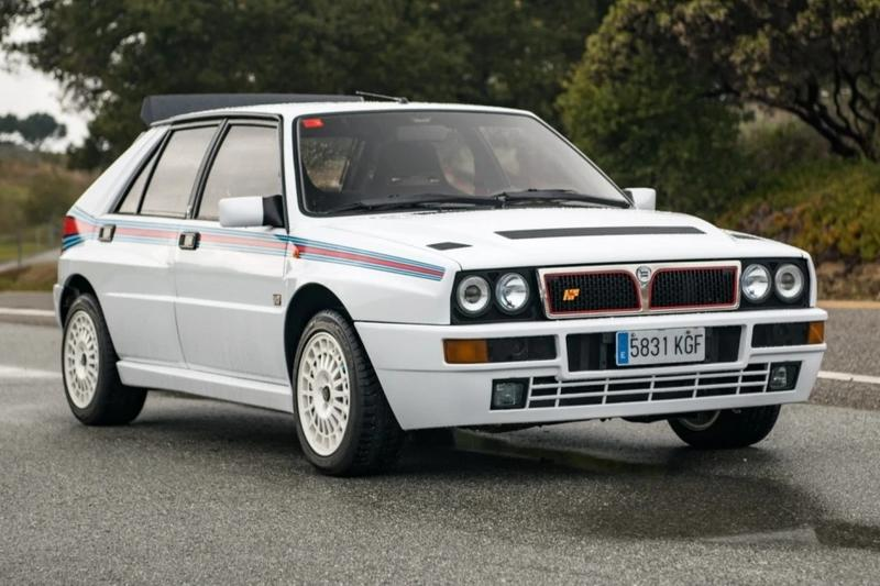 Car for Sale: Super-Rare 1992 Lancia Delta Integrale Martini 5 Evoluzione