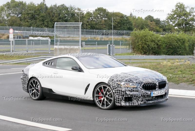 That Weird 8 Series Mule Is Probably a Hybrid M8 CSL