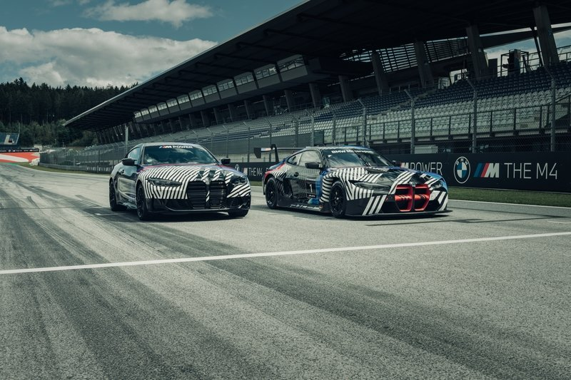 BMW M4 Coupe and GT3 Teased - Is The M4 GT3 The Definition of Ugly?