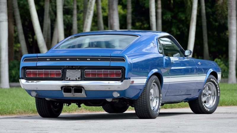 Car for Sale: Super Rare, Numbers Matching 1970 Shelby GT500 Fastback With Low Milage Exterior - image 927471