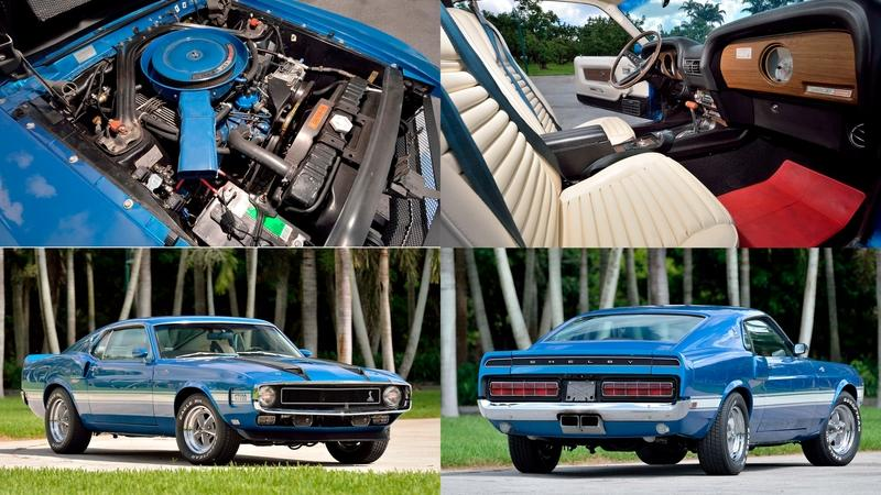 Car for Sale: Super Rare, Numbers Matching 1970 Shelby GT500 Fastback With Low Milage