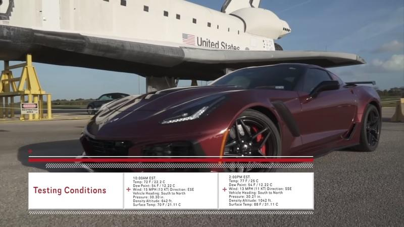 Check Out This 2019 Chevy Corvette ZR1 As It Rocks Past the 200 MPH Mark