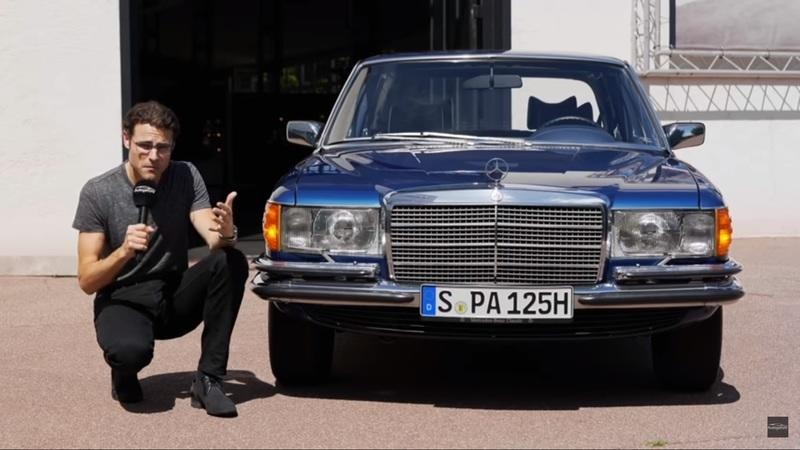 Check Out This Video Review for the 1979 Mercedes S-Class W116