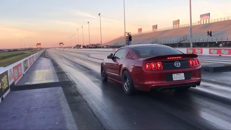 Did You Ever Think You'd See a Normal Looking V-6 Mustang Than Can Run 9-Second Quarter-Miles?