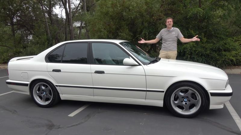Doug DeMuro's Review of this E34 BMW M5 Will Hit You With Some 90s Nostalgia