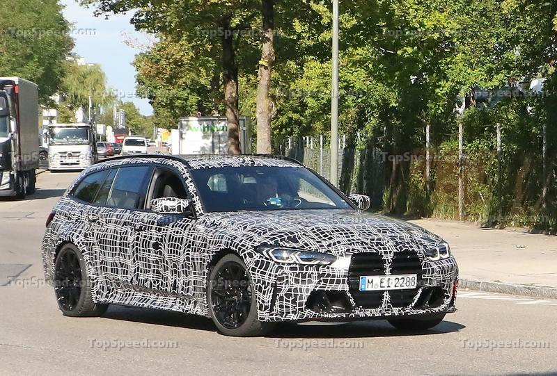 2021 BMW M3 Touring - Everything We Know Exterior Spyshots - image 931427