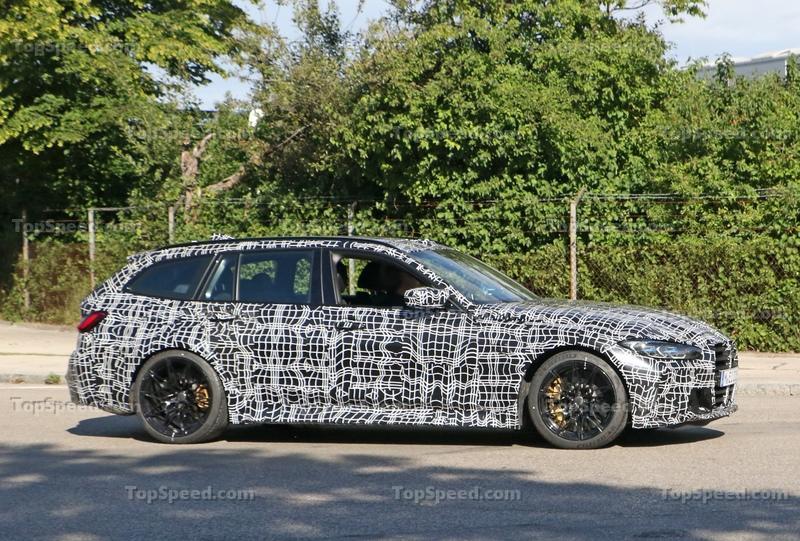 2021 BMW M3 Touring - Everything We Know Exterior Spyshots - image 931432