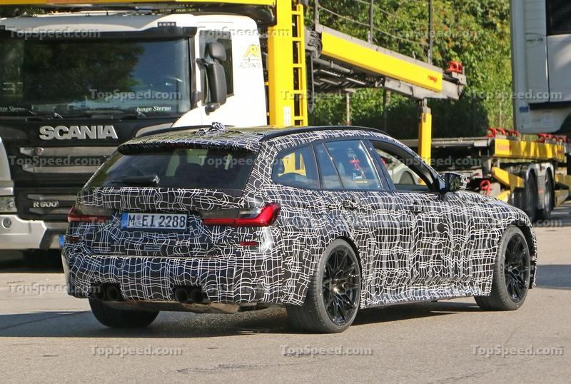 2021 BMW M3 Touring - Everything We Know Exterior Spyshots - image 931418