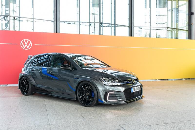 If The Golf GTI Is Both A Bit Too Tame And Too Cruel With The Environment, Have A Look At the Golf GTE HyRacer