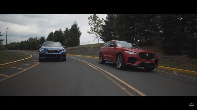 Is a 2020 BMW X6 M50i Faster Than Jaguar's Supercharged F-Pace SVR?
