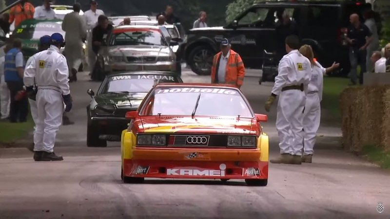Is There Anything Better Than the Sound of This Five-Cylinder Audi Coupe at Goodwood?