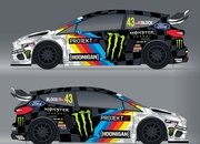 You Have to Love Watching Ken Block Hoon The All-Electric Ford Fiesta ERX - image 927162