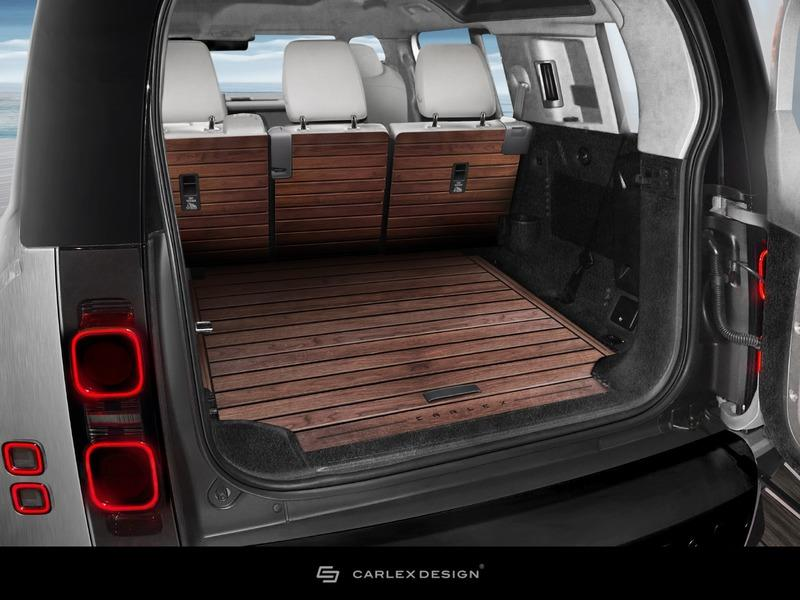 2020 Land Rover Defender Yachting Edition by Carlex Design