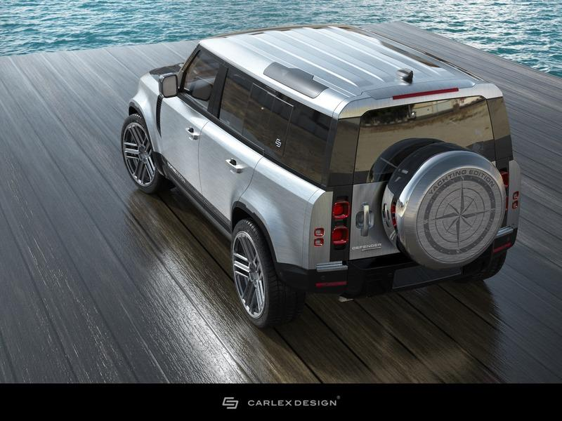 2020 Land Rover Defender Yachting Edition by Carlex Design Exterior - image 931530