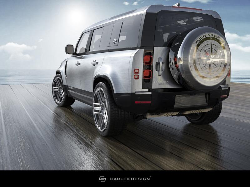 2020 Land Rover Defender Yachting Edition by Carlex Design Exterior - image 931531