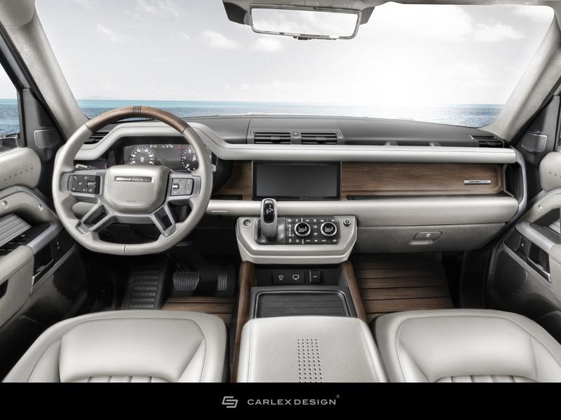 2020 Land Rover Defender Yachting Edition by Carlex Design Interior - image 931523
