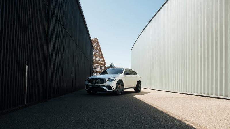 2020 Mercedes-AMG GLC 63 S Coupe By Lorinser - Ugly Car, Ugly Wheels, More Power