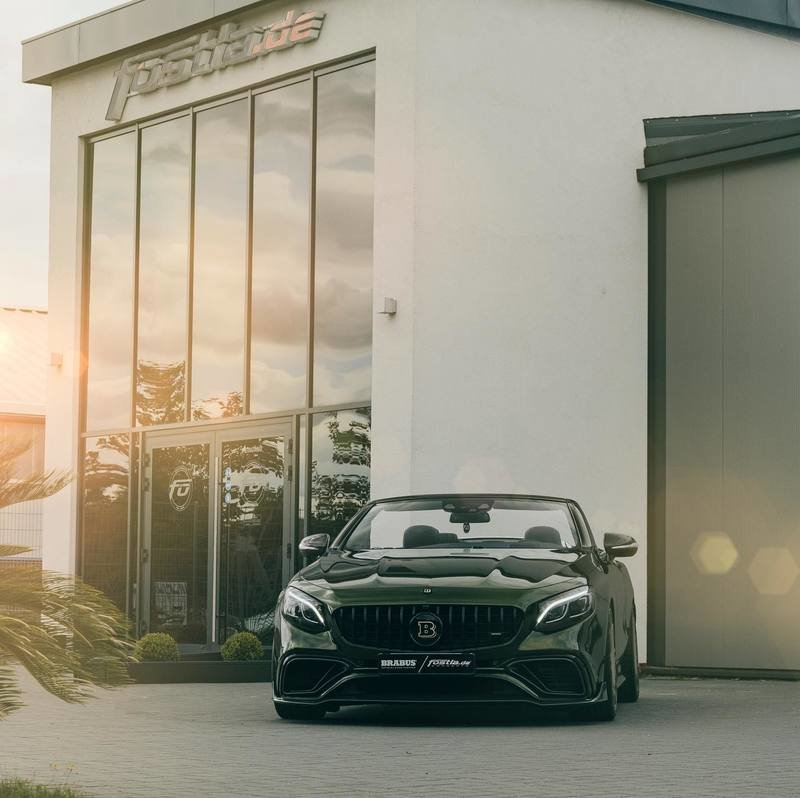 2020 Mercedes-AMG S63 Cabriolet by Brabus and Fostla