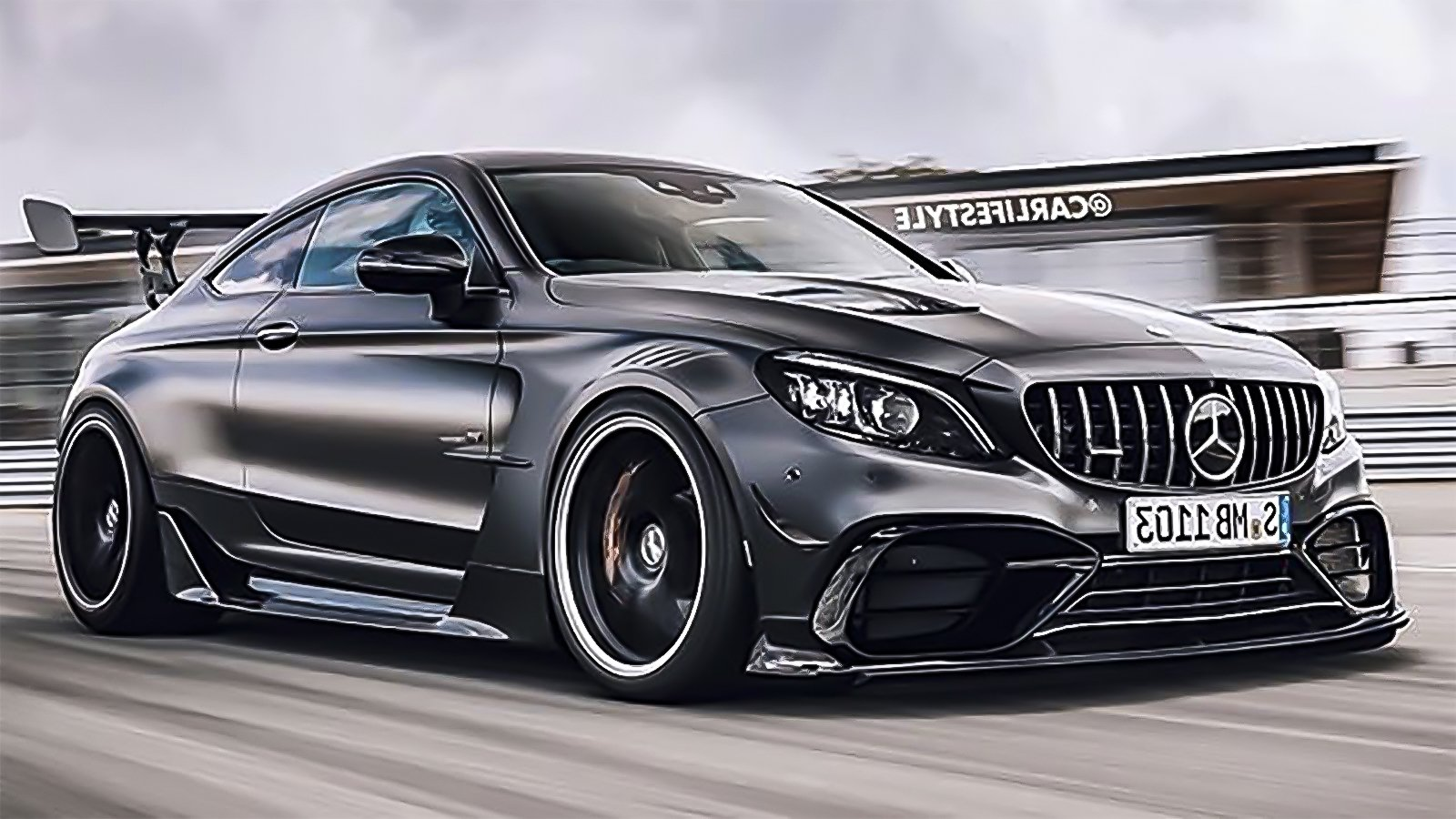Mercedes and AMG Should Definitely Build This C63 Black ...