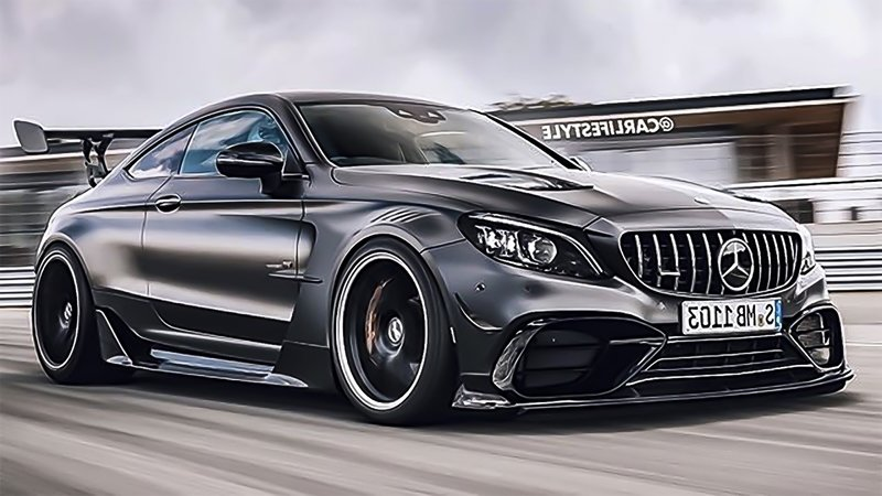 Mercedes and AMG Should Definitely Build This C63 Black Series Coupe