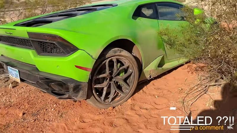 New Place to Look for Abandoned Lamborghinis: The Desert