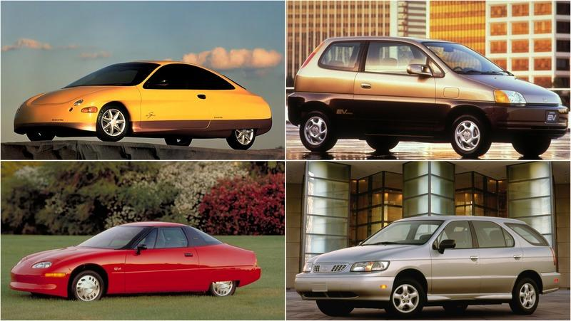 Nine Early Electric Cars From The 1990s That We Forgot About