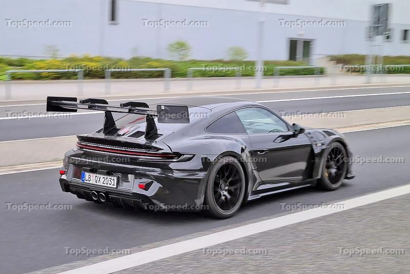 The Porsche 911 GT3 RS Looks Wild In The Latest Spy Shots