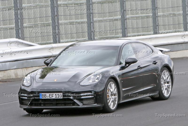 Porsche Panamera Turbo Laps the Nurburgring in 7.29.81, But It's Not The Fastest Sedan Exterior Spyshots - image 928476