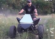 Someone Built Their Own Tesla Cyberquad, and It's Awesome - image 930468