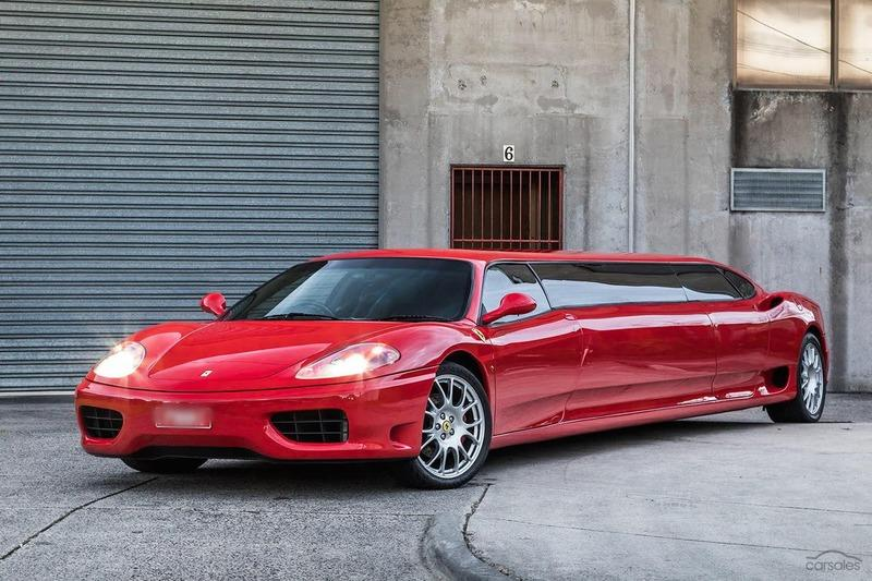 Someone is Selling a 2003 Ferrari 360 Limo And We Can Almost Smell the Lawsuit