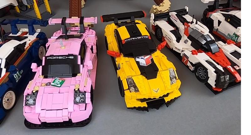 Someone Recreated The Entire GTE Pro Field From Le Mans 2018 As Lego Cars