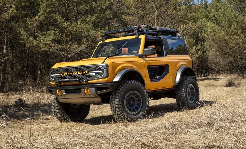 Sorry, Europeans, No Ford Bronco For You