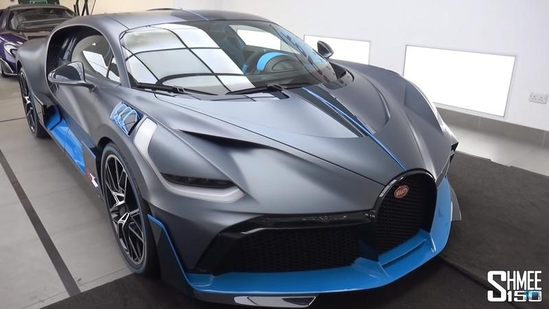 Take A Fun Walk Around the Very First Bugatti Divo Produced with Shmee