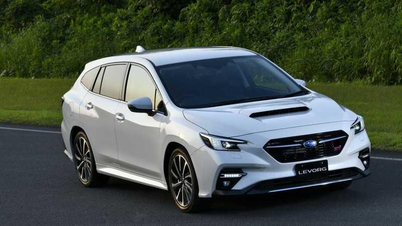 Thanks to the 2021 Subaru Levorg Wagon, We Know What the New WRX Will Look Like