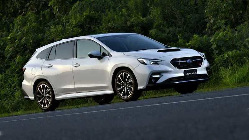 Thanks to the 2021 Subaru Levorg Wagon, We Know What the New WRX Will Look Like Exterior - image 929929