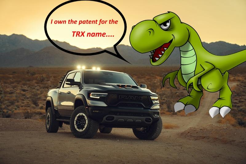 The Ram 1500 TRX Might Be Associated With the T-Rex Dinosaur, But That Wasn't the Intention