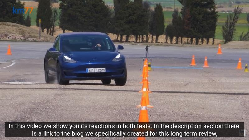 The Tesla Model 3 Outperforms the Porsche Taycan In the Moose Test