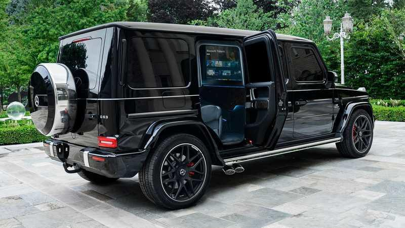 This Armored Mercedes-AMG G63 by Inkas Is the Definition of Protected Luxury