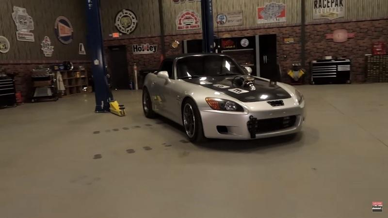 This LS-Swapped and Turbocharged Honda S2000 Is the King of Tuner Vehicles