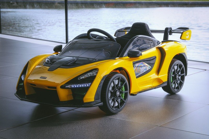This McLaren Senna Electric Car Is the Best Way To Introduce Your Little One to the World of Cars