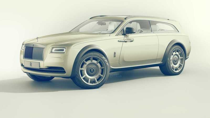 This Rendering Could Preview That Weird, Rolls-Royce Shooting Brake